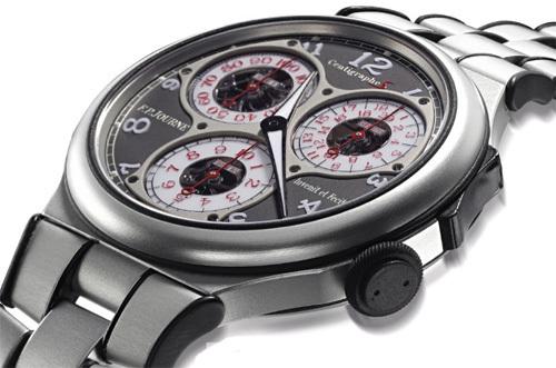 F.P. Journe Centigraphe Sport : la montre numéro 001 vendue aux enchères par Christie's pour le Japon