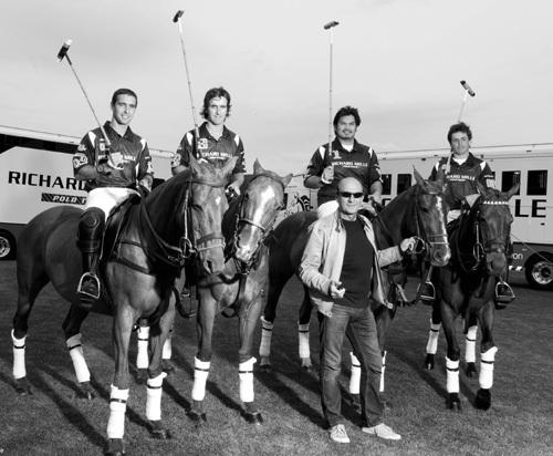 Richard Mille Polo Team : Richard Mille fait son entrée dans l'univers du polo