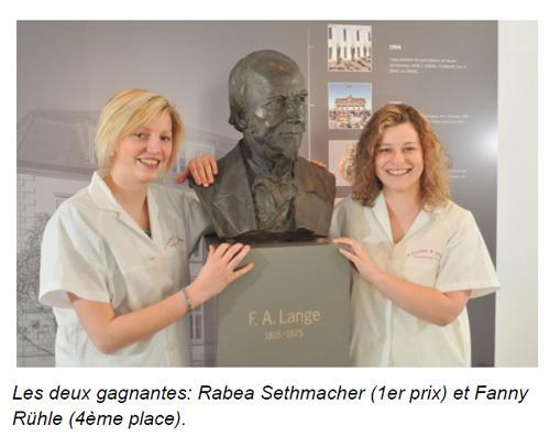 Concours Institut Horlogerie Cartier 2011 : premier prix pour une jeune étudiante de l'Académie A. Lange & Söhne