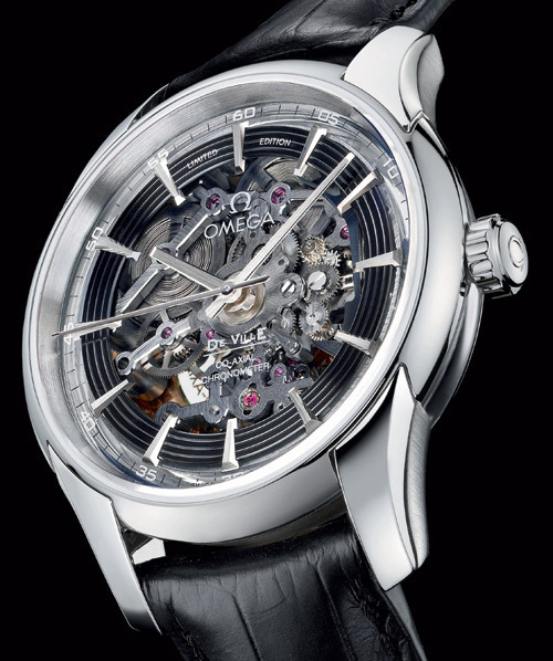 Omega Hour Vision Co-Axial Skeleton Platinum Limited Edition : 88 pièces uniquement