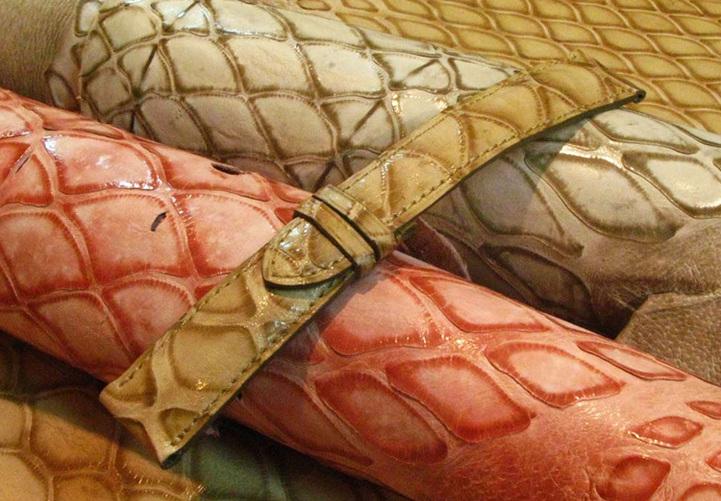 Le cuir de pangolin : la chronique de l'Atelier du Bracelet Parisien