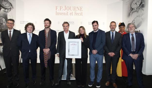 Marion Baruch reçoit le Prix Solo artgenève F.P. Journe 2019