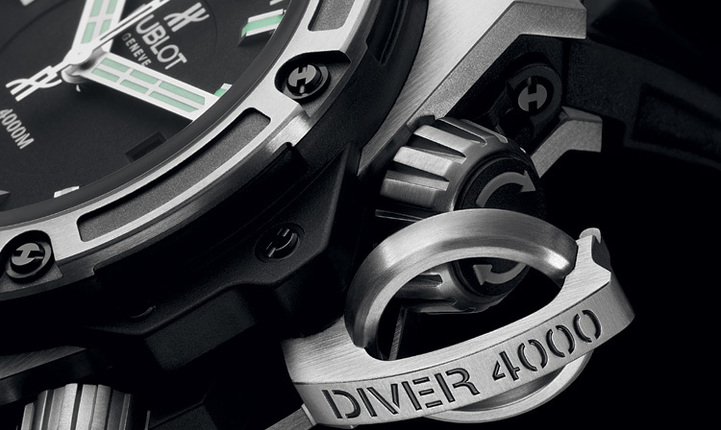 Hublot King Power Oceanographic 4000 : plongeuse abyssale