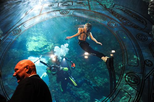 Hublot King Power Oceanographic 4000 : plongeuse abyssale