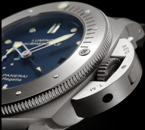 Panerai Luminor Submersible 1950 Regatta 3 Days Automatic Titanio : la montre des « gentlemen sailors »
