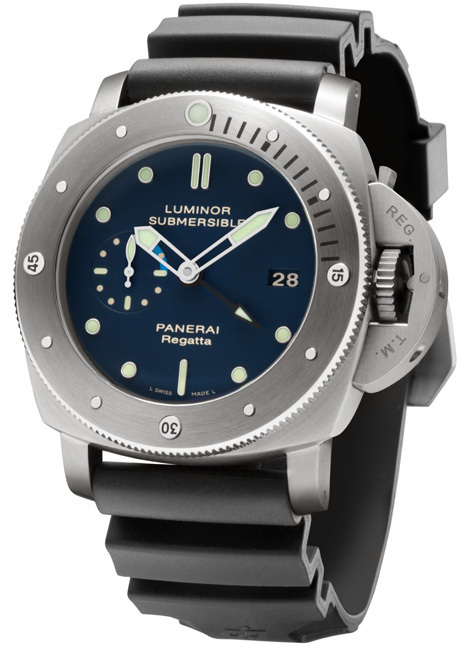 Panerai Luminor Submersible 1950 Regatta 3 Days Automatic Titanio : la montre des « gentlemen sailors »