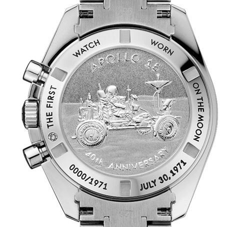 Omega Speedmaster Moonwatch « Apollo 15 » 40e Anniversaire : édition limitée aux couleurs de la mission