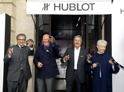 Hublot : inauguration officielle de sa boutique parisienne