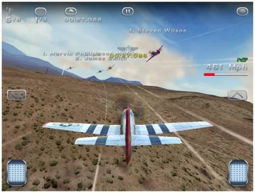 Breitling Reno Air Races : jeu de courses aériennes en ligne