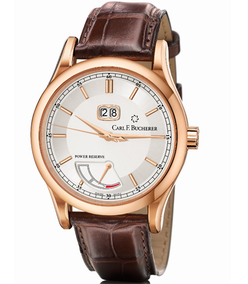 Carl F. Bucherer Manero BigDate Power : classique donc intemporelle…