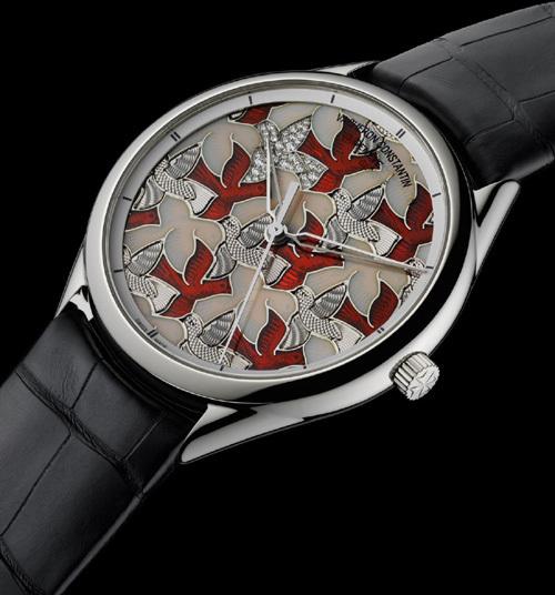 Only Watch 2011 : Métiers d'Art Colombes de Vacheron Constantin