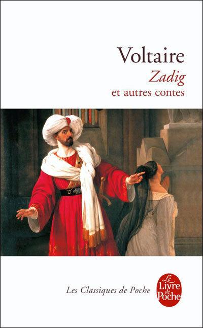 Zadig, copyright Le livre de poche