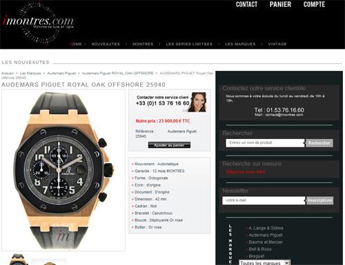 www.imontres.com : les montres de luxe d'occasion… autrement