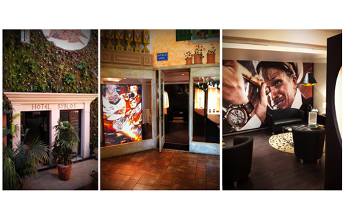 Saint-Tropez : RJ-Romain Jerome envahi l'hôtel Byblos