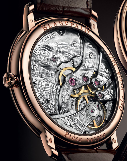 Blancpain Villeret Grande Décoration Only Watch 2011