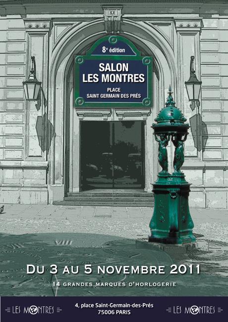 Salon « Les Montres » : rendez-vous les 3, 4 et 5 novembre 2011