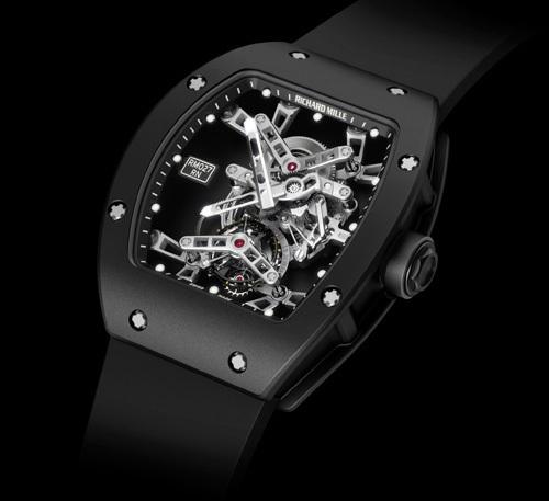 Richard Mille : la montre de Rafael Nadal, une RM 027, en vente aux enchères pour Only Watch 2011