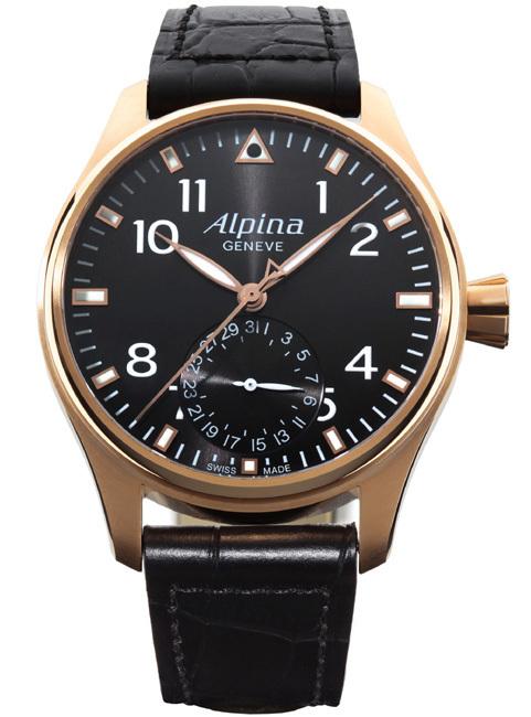 Alpina : une Startimer Pilot en or rose pour célébrer le cinquième anniversaire de la manufacture de Plan-les-Ouates