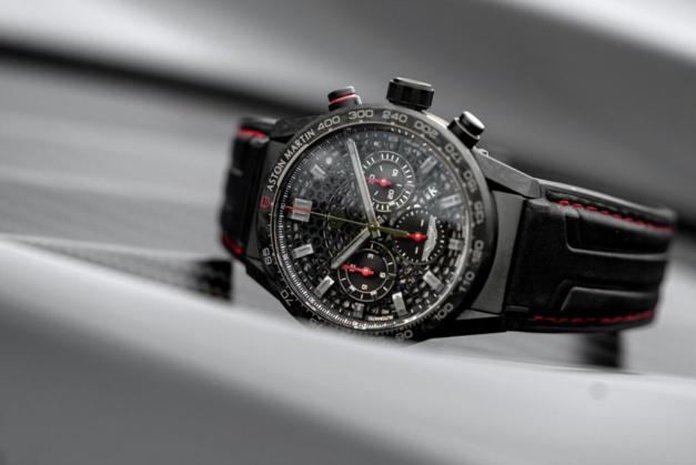 Aston Martin DBS Superleggera Edition Speciale TAG Heuer chrono