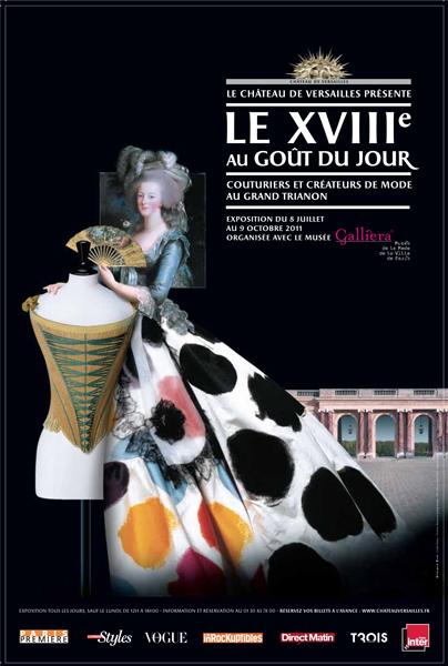 Breguet mécène de l'exposition : le XVIIIe au goût du jour : couturiers et créateurs de mode au Grand Trianon