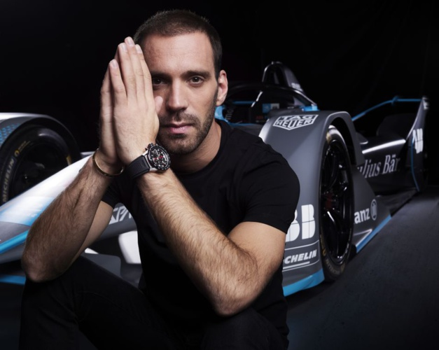 Jean-Eric Vergne pour TAG Heuer
