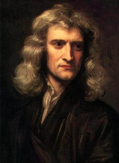 Portrait d'Isaac Newton