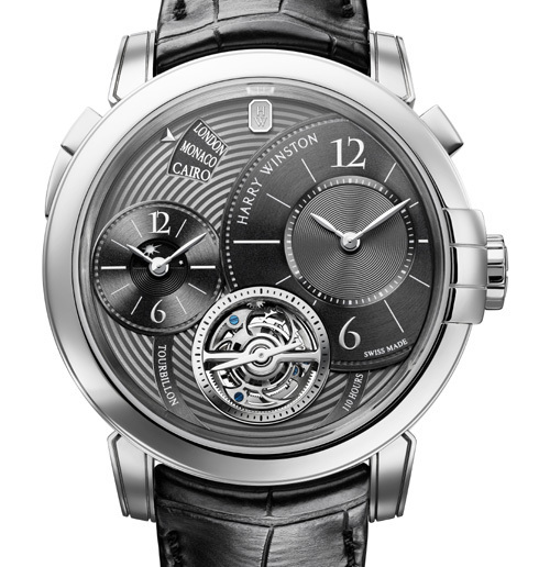 Harry Winston Only Watch 2011 : Midnight GMT Tourbillon