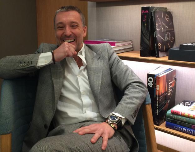 Jean-Marc Pontroué, CEO de Panerai, Photo Joel Chassaing-Cuvillier