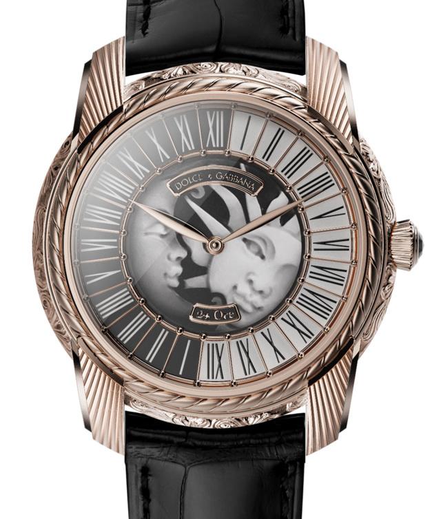 Dolce&Gabanna Manifattura Italiana : montre italienne pour heures italiques