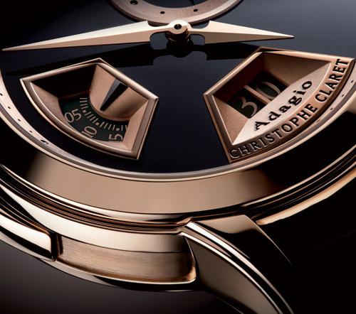 Adagio : le nouveau modèle créé par l'horloger Christophe Claret