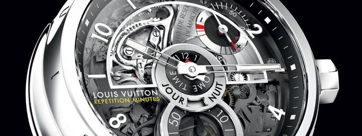 Louis Vuitton Tambour Répétition minutes : voyager en musique