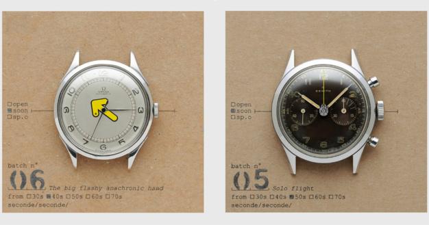 Seconde Seconde : des montres vintage avec un petit grain de folie