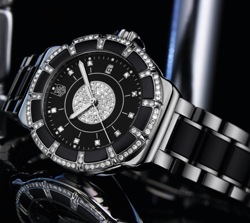 TAG Heuer Formula 1 Lady Steel and Ceramic pavée : le temps passe, les diamants restent…