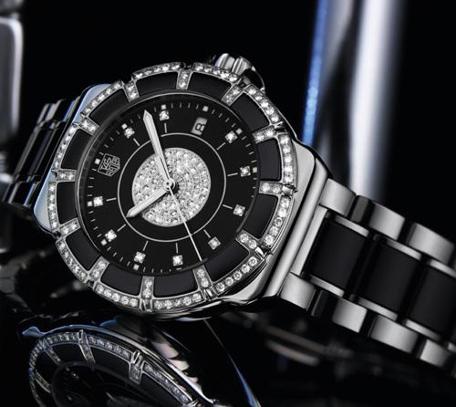 TAG Heuer Formula 1 Lady Steel and Ceramic pavée : le temps passe, les diamants restent…