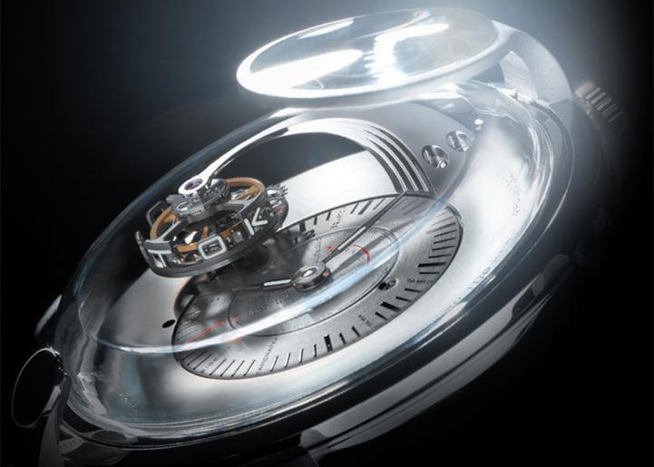 BLU Gagarin Tourbillon : ovni horloger