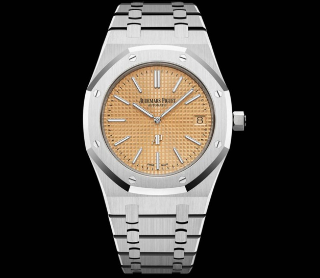 Audemars Piguet Royal Oak Jumbo or gris 15202BC.OO.1240BC.01