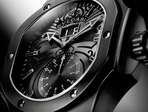 Bulgari Endurer Chronosprint All Blacks Daniel Roth  une montre de  champions du monde ?