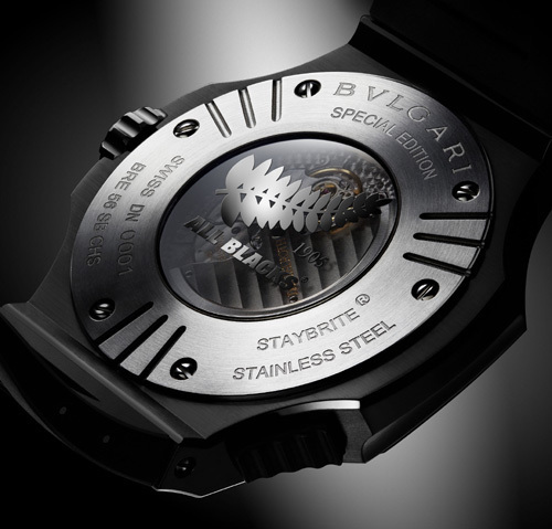 Bulgari Endurer Chronosprint All Blacks Daniel Roth : une montre de champions... du monde ?