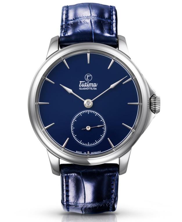 """Tutima Patria Admiral Blue : une belle """"bleue"""" de Glashütte"""