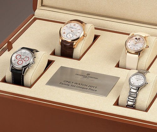 Frédérique Constant : The Family SET « Only Watch 2011 »