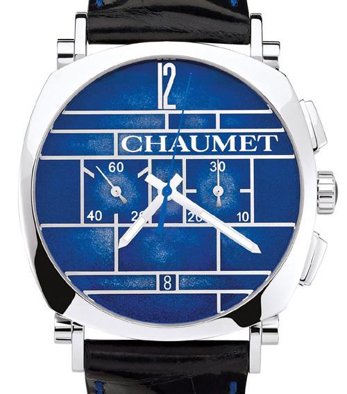 Chaumet Dandy Chronographe platine Edition Limitée El Primero