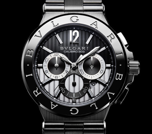 Bulgari Diagono Calibro 303 Bulgari acier