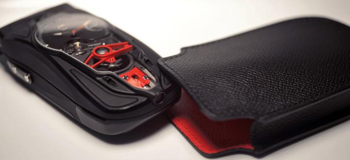 Celsius X VI II Pièce Unique Only Watch 2011 : alliance de la téléphonie mobile et de la micromécanique horlogère