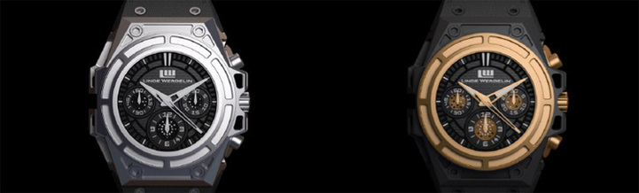 Linde Werdelin SpidoSpeed Chronograph Skeleton Watch : montre en action