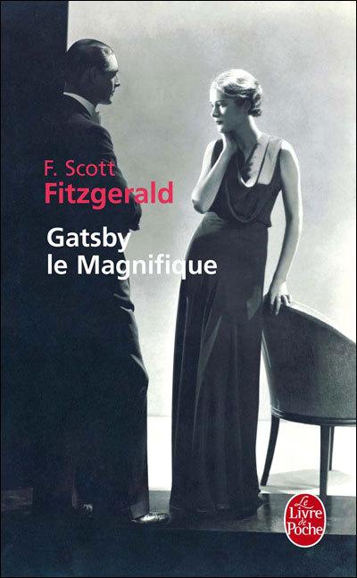 Gatsby le magnifique, copyright Le livre de poche