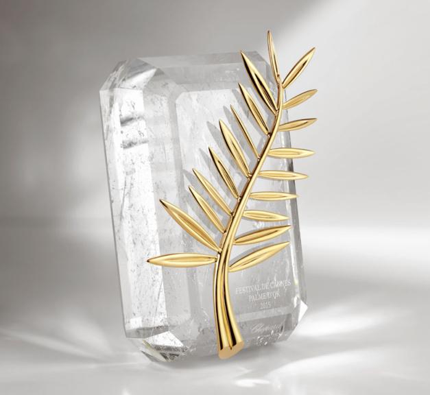 La Palme d'Or du Festival de Cannes réalisée par Chopard
