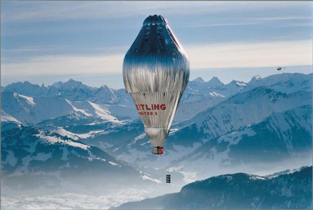 Breitling Cockpit B50 Orbiter limited edition : le tour du monde en ballon