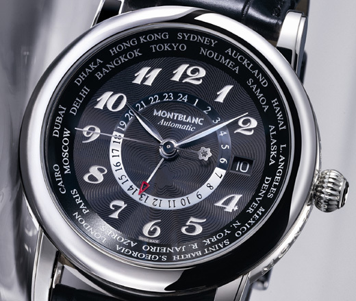 Montblanc Star World-Time GMT Automatic : pour dandys globe-trotters