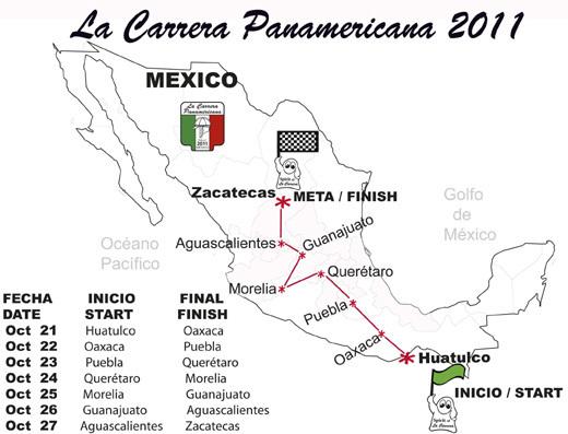 Carrera Panamericana : Frédérique Constant sponsor officiel de la 29ème édition