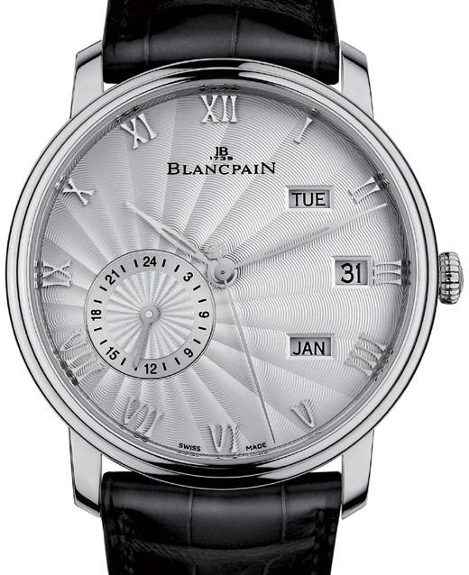 Blancpain Villeret Quantième annuel GMT : élégante aux quatre coins du globe